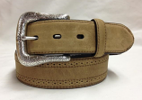 Men's Basic Distressed Brown Belt by Ariat