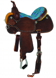 "14.5"" XP Trinity Barrel Saddle by Circle Y Saddlery"