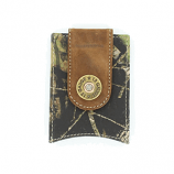 Money Clip with Shotgun Shell Concho