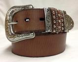 """Women's 1 1/2"""" Multi Keeper Fashion belt by Nocona"""