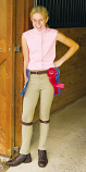 Kid's Tuff Rider Tan Cotton Pull on Jod by JPC Equestrian