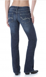Women's Premium Boot Cut Low Rise Jeans by Wrangler