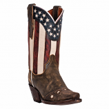 Women's Stars and Stripes Boot by Dan Post