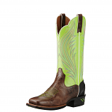 Women's Brush Country Lime Catalyst Prime Boots by Ariat