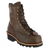 "Men's 8"" Steel Toe Logger Work Boot by Chippewa Boots"