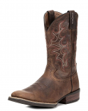 Men's Silver Antique Boot by Justin