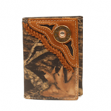 Trifold Shotgun Shell Wallet with Lace