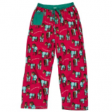 "Women's ""I Don't Do Mornings"" Horse PJ Pant by Lazy One"