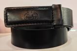 "Men's Black 1 1/2"" Work Belt by 3D"