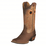 Men's Wildstock Weathered Brown and Quartz Boot by Ariat