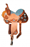 XP Blossom Barrel Saddle by Circle Y
