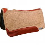 Wool Contour Saddle Pad- Tacky Too by Reinsman
