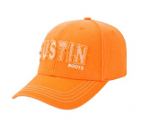 Women's Orange Ball Cap by Justin