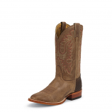 Men's Tan Vintage Cow Legacy Round Toe Boot by Nocona