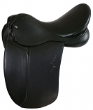 "18"" M. Toulouse Aachen Double Leather Dressage Saddle"