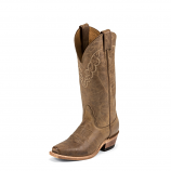 Women's Cozy Soft Tan Cowhide Legacy Boot by Nocona