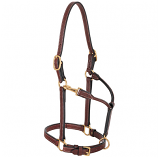 Double Buckle Crown Halter by Weaver