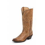 Women's Tan Deertanned Cow by Nocona Boots