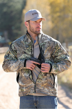 Men's Camo Concealed and Carry Jacket by Cinch