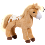 Diana Golden Blanket Appaloosa Horse by Douglas Toys