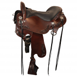 Horizon Outpost 16 1/2 R Trail Saddle  by Tucker
