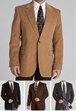 Men's Lubbock Corduroy Coat by Circle S