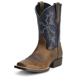 Kid's Thombstone Earth and Black Boot by Ariat