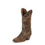 Women's Tan Road Bent Rail Boot by Justin