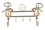 Wall Hat Rack with Guns by M&F Western Products