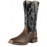 Men's Earth Brown and Black Tombstone Boot by Ariat
