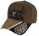 Men's Cowboy Church Ball Cap by Western Fashion