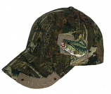Men's Bass Camo Ball Cap by Western Fashion
