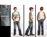 Boy's BB Gun Regular Fit Jeans by Rock and Roll Cowboy