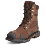 Men's Brown Overdrive Wide Square Toe H2O Boot by Ariat