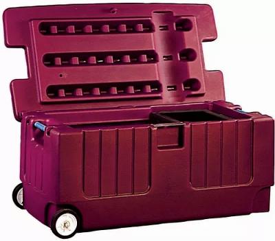 Portable Tack Trunk with Organization Tray