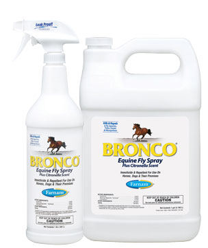 Bronco Equine Fly Spray Plus Citronella Scent