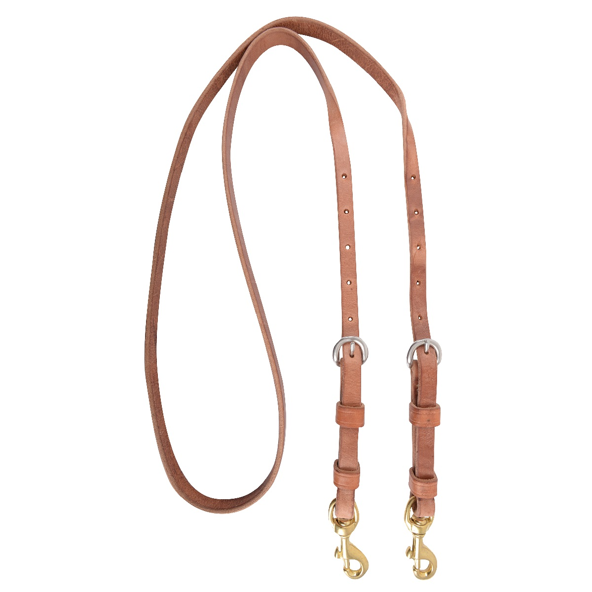 Roping Reins with Double Buckles by Martin Saddlery