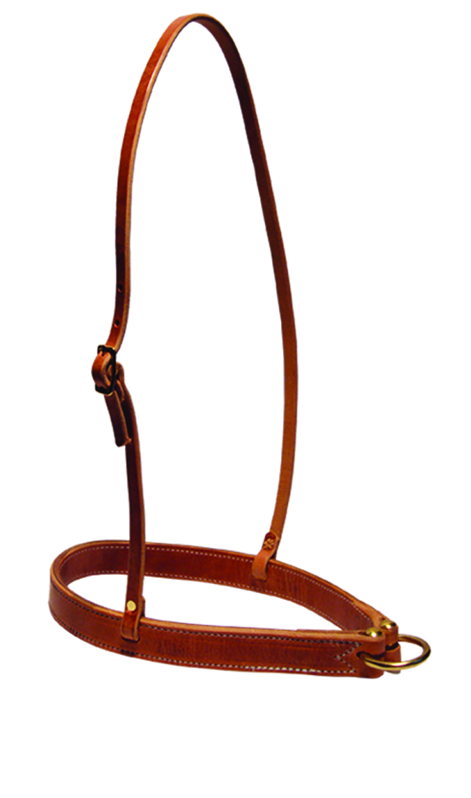 Heavy Duty Leather Noseband by Berlin Leather Company