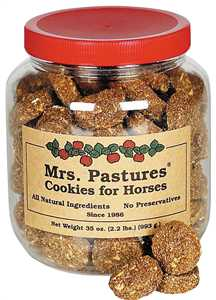 Mrs. Pasture Horse Cookies 2 Pound Jar