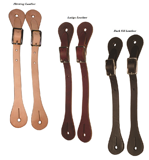 Economy Leather Spur Straps by Berlin Leather Company