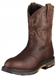 Men's Dark Copper Workhog H2O Boot by Ariat