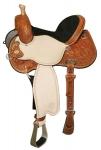 Lisa Lockart Dynam Flex 2 Barrel Saddle from Circle Y of Yoakum