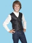 Lambskin Kids Western Vest from Scully
