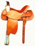 Roping Saddle from Dakota Saddlery
