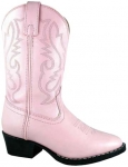Kid's Pink Denver Boot by Smoky Mountain Boots