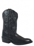Kid's Black Denver Boot by Smoky Mountain Boots