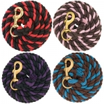 Weaver Leather Striped Colored Cotton Lead Rope
