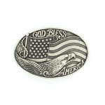 God Bless America Buckle by Nocona