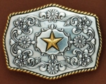 Golden Star Buckle by Nocona