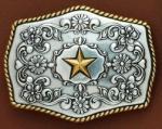 Golden Star Buckle by Nocona